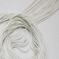 2мм Нитяная штора Espocada однотонная 900-10 белая