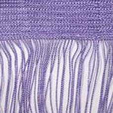 Кисея шторы однотонные нити сиреневые (12)