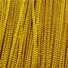 Кисея шторы однотонные нити золотые (16)