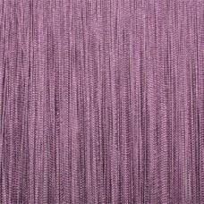 Кисея шторы однотонные нити фиолетовые (18)