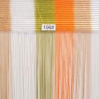 1мм Нитяная штора радуга вертикальная 106